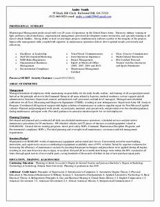 Andre Smith U0026 39 S Federal Resume