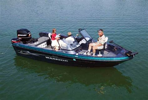 Warrior Boats by Research Warrior Boats V2121 Dc Eagle Bluewater Fishing