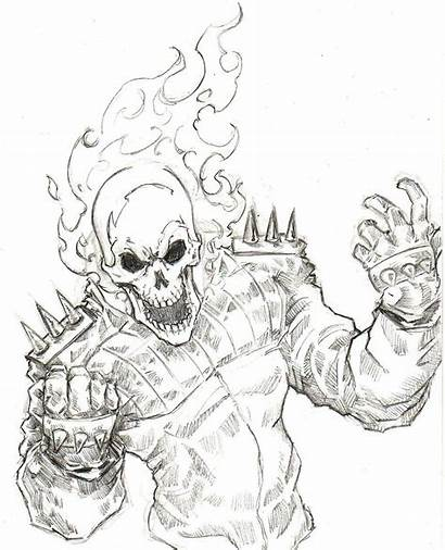 Ghost Rider Coloring Pages Drawing Visit Google