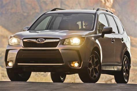 subaru cars 2014 2014 subaru forester new car review autotrader