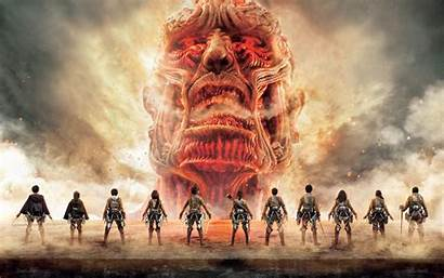 Titan Attack Pc Poster Wallpapers Titans Tv