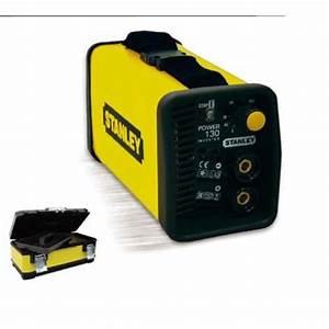 Poste A Souder Stanley : stanley poste souder inverter 120a power130 bo te ~ Dailycaller-alerts.com Idées de Décoration