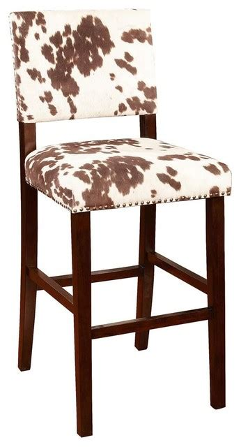 Corey Upholstered Bar Stool  Southwestern  Bar Stools