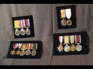 WW1 WW2 British military Campaign Medal collection ...