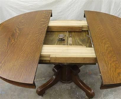 Pedestal Table Oak Dining Round Antique Tables