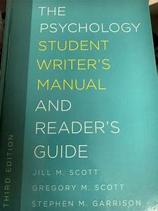 The Student Writer U0026 39 S Manual  A Guide To Reading And