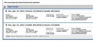 A word of caution about mileage accrual on United Airlines ...