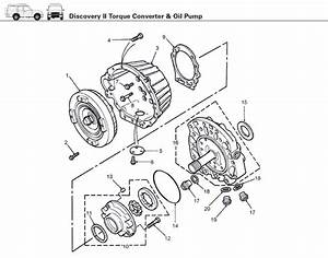 Land Rover Discovery Ii Transmission  Torque Converter