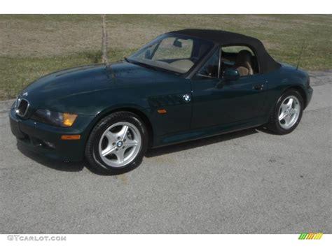 dark green bmw dark green ii 1996 bmw z3 1 9 roadster exterior photo