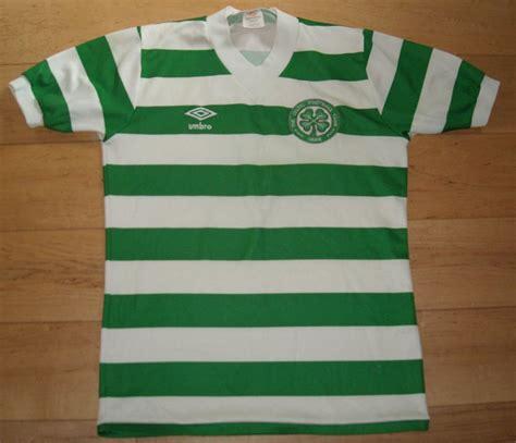 Celtic Home football shirt 1979 - 1982. Sponsored by no ...