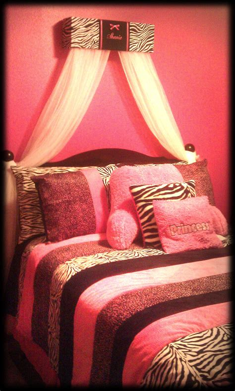 zebra and pink bedroom zebra bed canopy crib crown animal print by sozoeyboutique 17904 | il fullxfull.327779328