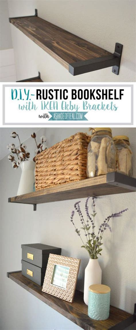 Shelves Ideas Diy by 27 Best Diy Floating Shelf Ideas And Designs For 2019