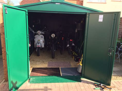 Motorcycle Storage Shed, 9ft X 5ft 2