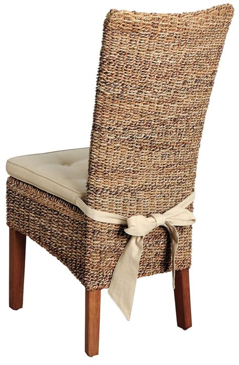 Chaise Abaca by Chaise En Abaca Et Teck Cir 233
