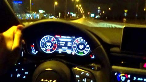 audi   quattro  tfsi night driving test drive