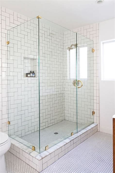 25 best ideas about glass tile shower on