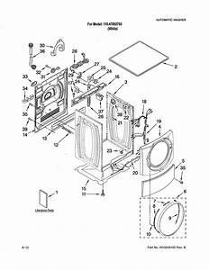 34 Kenmore Front Load Washer Parts Diagram