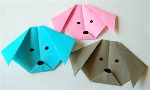 How to Make Paper Origami Dogs
