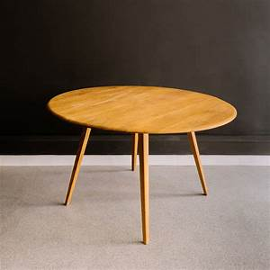 Ercol, Drop, Leaf, Dining, Table