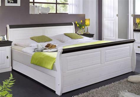 Massiv Holzbett 180x200 Bett Doppelbett Kiefer Massiv Holz