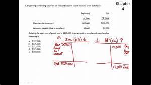 Total Cash Flow Cash Paid To Suppliers Mc Youtube