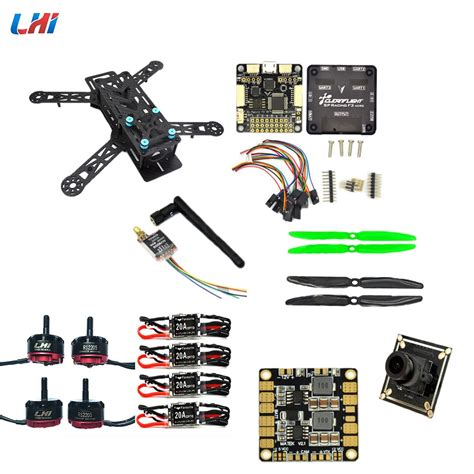 lhi diy qav quadcopter frame kit flight controller zmr qav  carbon fiber  camera