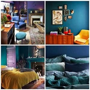 Idée De Déco Chambre : chambre bleu canard et associations ou accessoires ~ Melissatoandfro.com Idées de Décoration