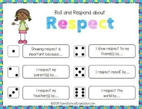 Teaching Kids Respect Worksheets The Best Worksheets Image Collection  Download And Share