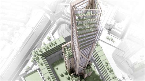 Would you live in a wooden skyscraper?