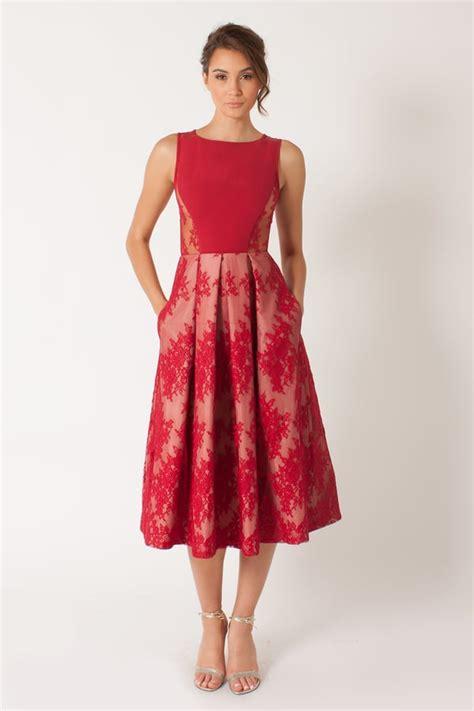 bonds eliason cocktail dress     red