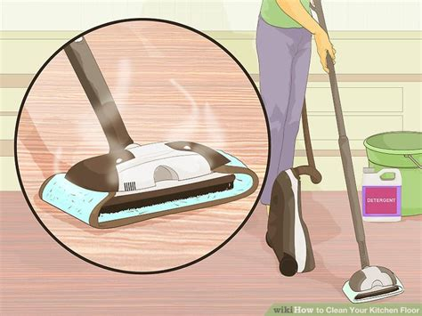 kitchen floor cleaning how to clean your kitchen floor 10 steps with pictures 5611