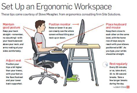 computer desk ergonomic design ergonomic workspace ergonomics pinterest