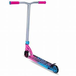 Madd VX7 Pro Scooter - Pink / Blue + Free Madd Gear T ...