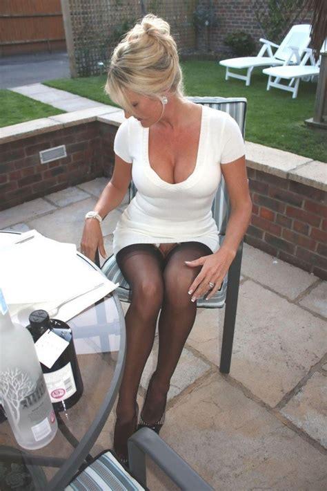 Milf In A White Dress Porn Photo Eporner