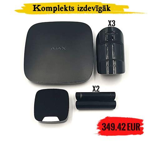 AJAX Hub bezvadu apsardzes komplekts - AJAX bezvadu ...