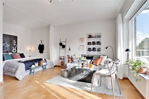 studio etudiant  idees deco pour petit appartement