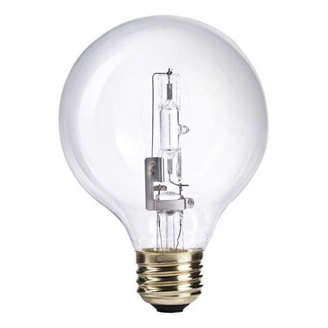 empty light bulb philips 60w equivalent halogen g25 clear globe light bulb