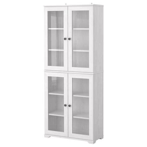 Ikea Cupboard Doors by Borgsj 214 Glass Door Cabinet White Ikea 135 As Pictured