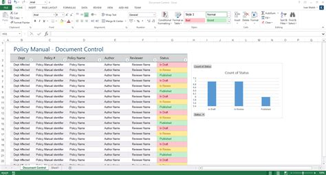 policy manual template ms word templates forms