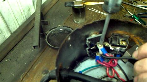 putting the back motor into a k 9 or circuiteer dryer