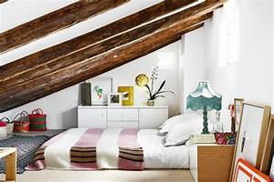 Lit Au Sol Enfant : 1001 id es d co de chambre sous pente cocoon ~ Preciouscoupons.com Idées de Décoration