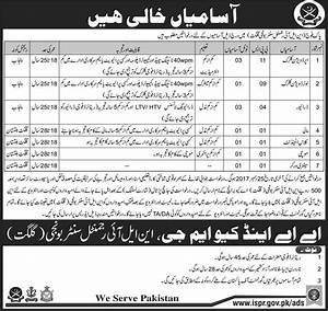 Government Jobs In Pakistan Army | Jobs In Pakistan