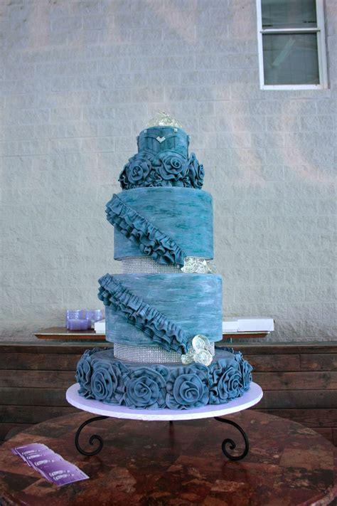 denim diamond cake  bakers man denim diamonds