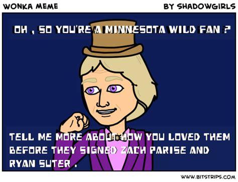 Minnesota Wild Memes - wonka meme bitstrips