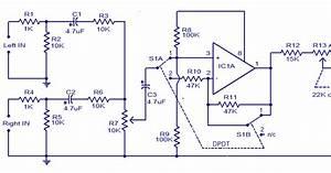 Tl072 Car Subwoofer Filter Circuit