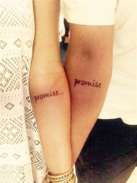 Small Matching Tattoos Couples promise matching tattoos  couples 564 x 752 · jpeg