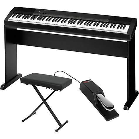 casio cdp  digital piano  cs wood stand sustain