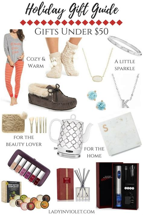 gift guide christmas gift ideas under 50 lady in