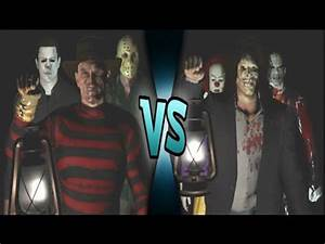 Leatherface Vs Jason Vs Freddy Vs Michael - Freddy Krueger ...