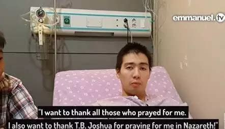 My god may his soul rest in peace he really did touch the lives of millions. Prophet TB Joshua resurrects 'a clinically dead' South ...